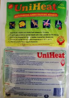 72 Hour Heat Packs - 120 box