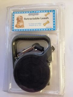 3m Retractable Dog Lead, suitable for up to 18kg