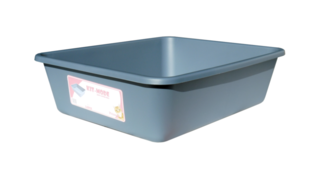 Cat Litter Tray 46x38x13cm - Blue