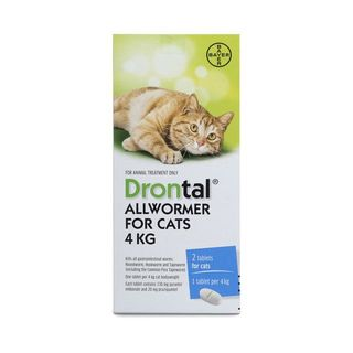 Drontal Cat Ellipsoid Worming Tablets 4kg
