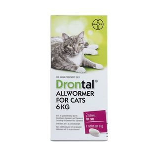 Drontal Cat Ellipsoid Worming Tablets 6kg