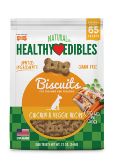 Healthy Edibles Biscuit Chick & Veggie 340g