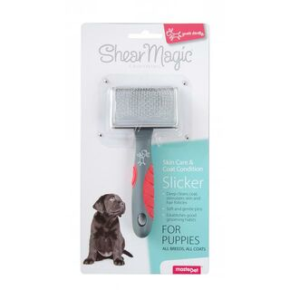 Shear Magic Slicker - Puppy