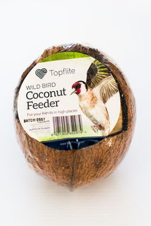 Topflite Wild Bird Energy Coconut Feeder