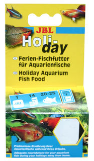 JBL Holiday, Weekend complete food for aquarium fish - 1pk (43g)
