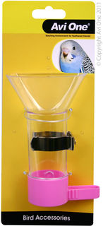 Avi One Bird Feeder - Funnel Feeder With Metal Holder 12cm