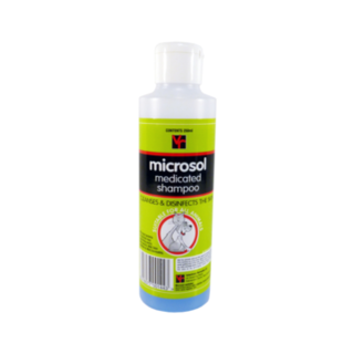 Vet Remedies Microsol Medicated Shampoo 250mL