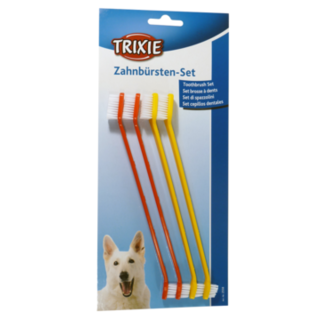 Trixie Toothbrush Set 4pc - 23cm