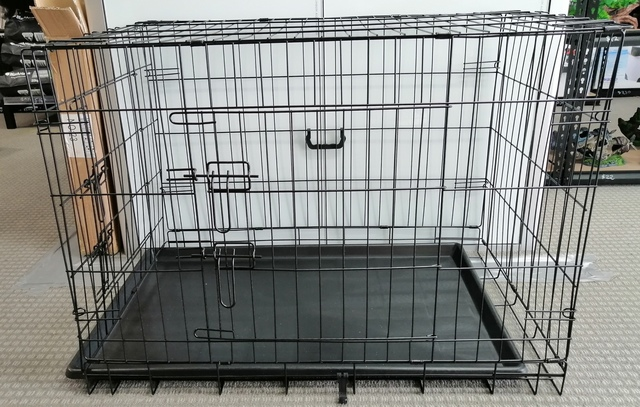 Collapsible Dog Metal Crate/Cage - 36