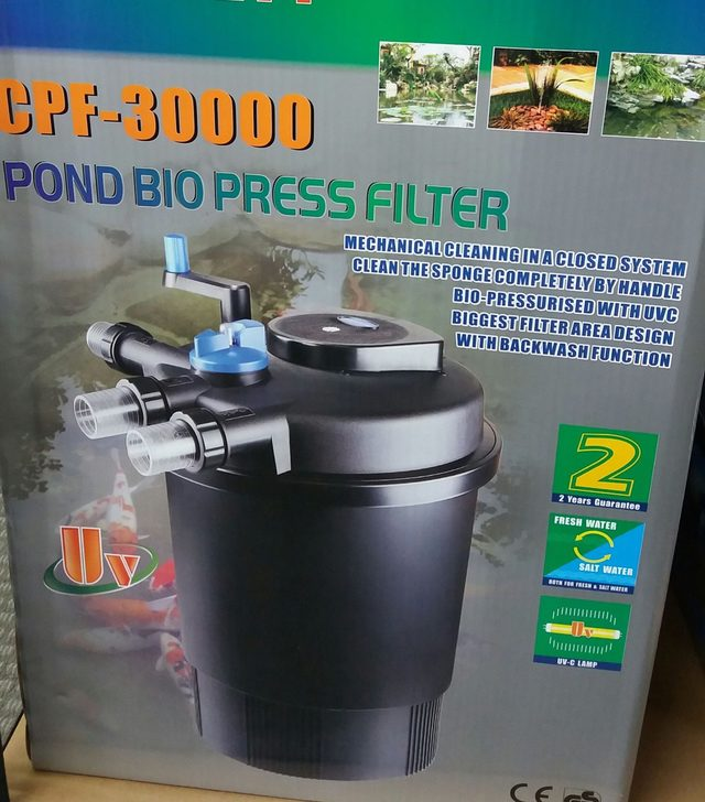 SUNSUN Large Pond Filter with UV Clarifier